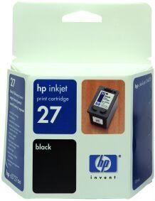 HP kartuša C8727AE črna #27
