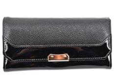 Arteddy Dámská lakovaná peněženka - černá