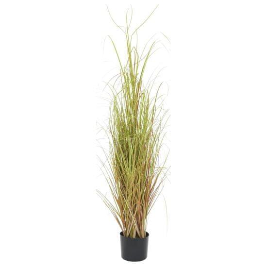 Umelá tráva v kvetináči 130 cm