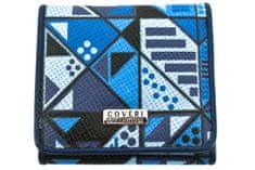 COVERI Dámská/dívčí malá peněženka Coveri - modrá