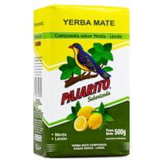 Pajarito Čaj maté - Menta Lemon, 500g