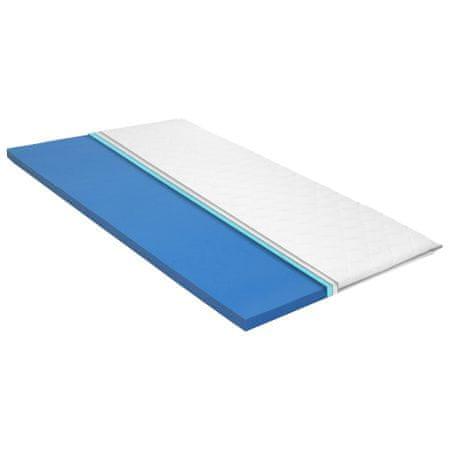 shumee viszkoelasztikus memóriahabos matractakaró 100 x 200 x 6 cm