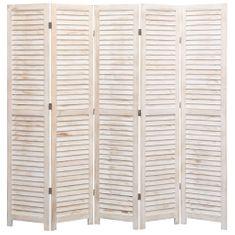 5-panelový paraván 175x165 cm drevený