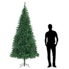 Umelý vianočný stromček 300 cm, zelený