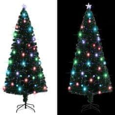 Umelý vianočný stromček s podstavcom a LED 210 cm 280 vetvičiek