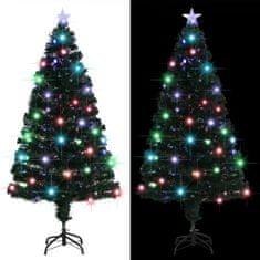 Umelý vianočný stromček s podstavcom a LED 150 cm 170 vetvičiek