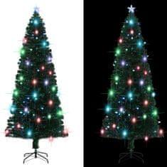 Umelý vianočný stromček s podstavcom a LED 240 cm 380 vetvičiek