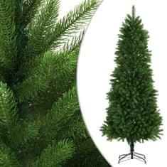 Umelý vianočný stromček s realistickým ihličím zelený 240 cm