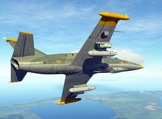 Allegria let na pohyblivém leteckém simulátoru