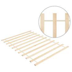 Rolovateľný posteľný rošt,11 lamiel 100x200cm, borovicový masív