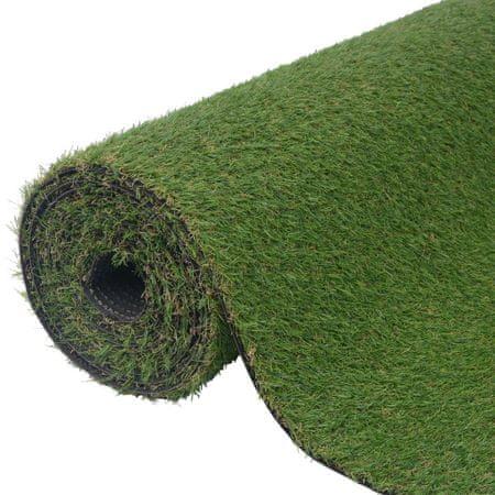 shumee Sztuczna trawa 1x8 m/20-25 mm, zielona