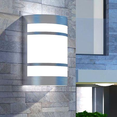 shumee kültéri fali rozsdamentes acél lámpa