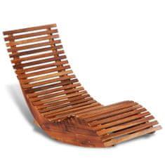 shumee Hojdacie ležadlo z akáciového dreva