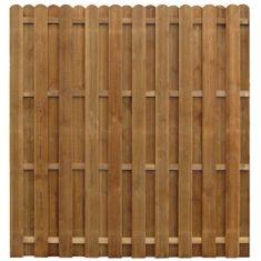 shumee Protipohledový plotový panel impregnovaná borovice 170 x 170 cm