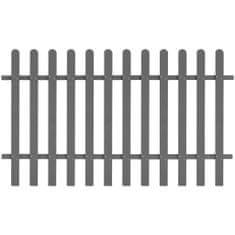 shumee Laťkový plot WPC 200 x 120 cm