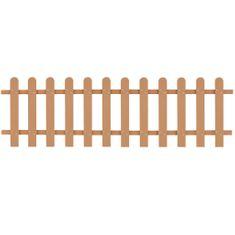 shumee Laťkový plot WPC 200 x 60 cm