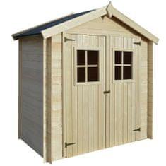 Szopa, szopka ogrodowa, drewno, 2x1 m, 19 mm