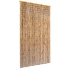 Zasłona na drzwi, bambusowa, 100 x 200 cm