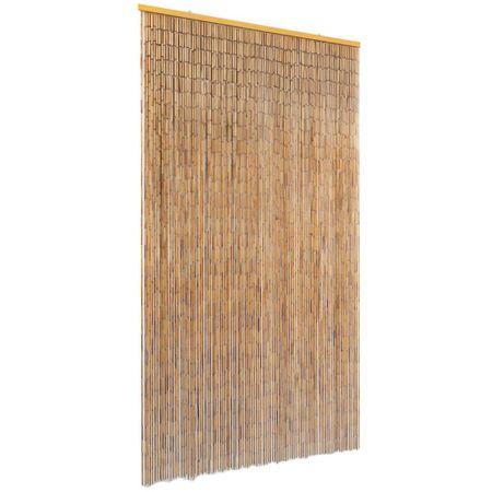 shumee bambusz szúnyogháló ajtófüggöny 100 x 200 cm
