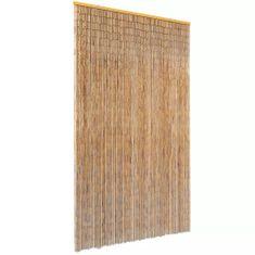 shumee Záves proti hmyzu do dverí, bambus 120x220 cm