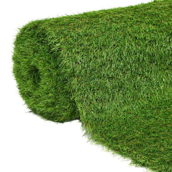 Umelý trávnik 1,5x5 m/40 mm, zelený