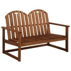 shumee Záhradná lavička 110 cm, akáciový masív