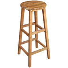 Barové stoličky 2 ks, akáciový masív