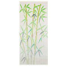 Zasłona na drzwi, bambus, 90 x 200 cm