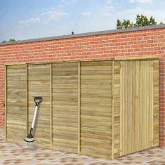 shumee Szopa na narzędzia, 315x159x178 cm, impregnowane drewno sosnowe