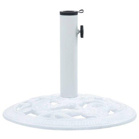 shumee fehér öntöttvas napernyőtalp 9 kg 40 cm