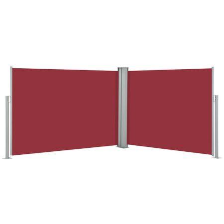 shumee piros behúzható oldalsó napellenző 100 x 1000 cm