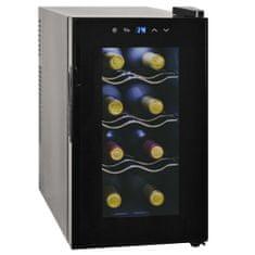 shumee Vinotéka / chladnička na víno, 25 l, 8 lahví, LCD displej