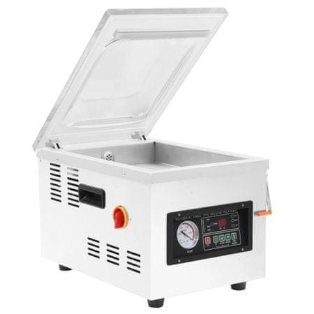 shumee professzionális rozsdamentes acél vákuumcsomagoló gép 400 W