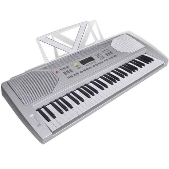 shumee Elektronické klávesy se stojánkem na noty - 61 kláves