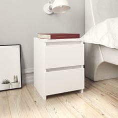 shumee fehér forgácslap éjjeliszekrény 30 x 30 x 40 cm