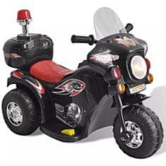 shumee Detská motorka napájaná batériou (Čierna)