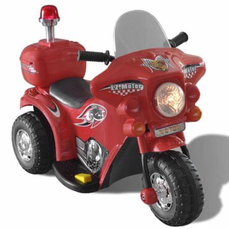 shumee Otroško Motorno Kolo na Baterijo (Rdeče Barve)