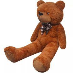 Plyšový medvěd hračka hnědý 200 cm