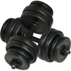 shumee egykezes súlyzók 2 x 15 kg