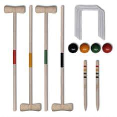 Drewniany zestaw do gry w krokieta
