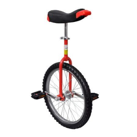 """shumee Rdeč nastavljiv monocikel 20"""""""