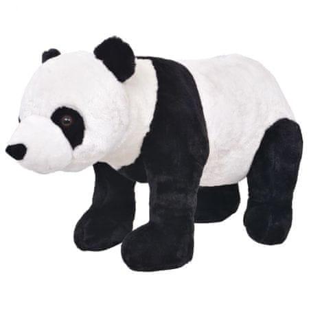 shumee Pluszowa panda, stojąca, czarno-biała, XXL