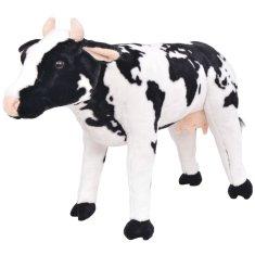 shumee Pluszowa krowa, stojąca, czarno-biała, XXL