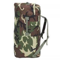 shumee Sportovní taška v army stylu 85 l maskáčová