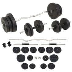 shumee egykezes és kétkezes súlyzókészlet 60 kg