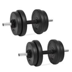 shumee 14 részes súlyzókészlet 20 kg