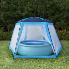 shumee Namiot do basenów, tkanina, 660x580x250, niebieski
