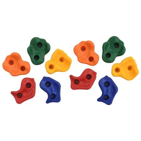 shumee 10 db többszínű PE mászókő