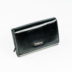 Lorenti Dámská luxusní peněženka Lory, černá