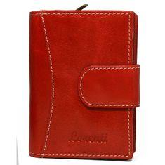 Lorenti Dámská kožená peněženka Nela červená